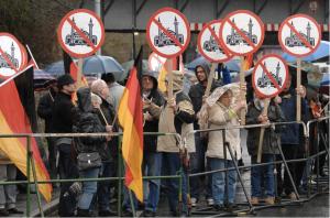 Pro NRW protests