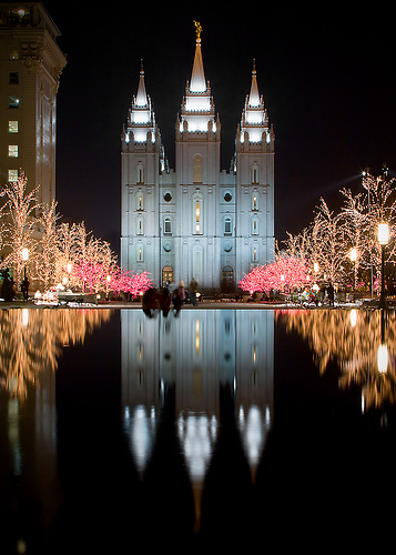 Temple Square Christmas Lights