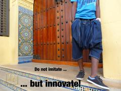 do not imitate