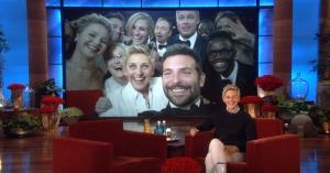Ellen's Oscars selfie