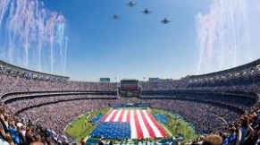 super bowl flyover